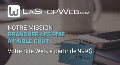 La shop Web