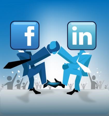 facebook or linkedin